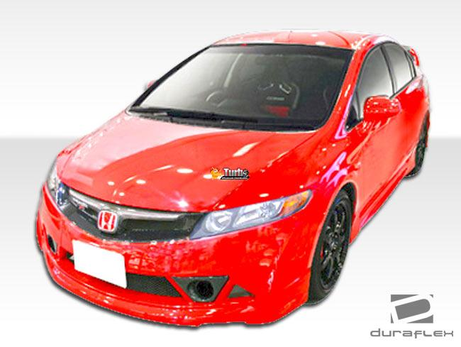 Extreme Dimensions 2006-2011 Honda Civic 4DR Duraflex Renzo Body Kit - 4 Piece