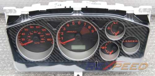 Rexpeed CT9A Carbon Gauge Cluster-High Gloss | Wholesale Car