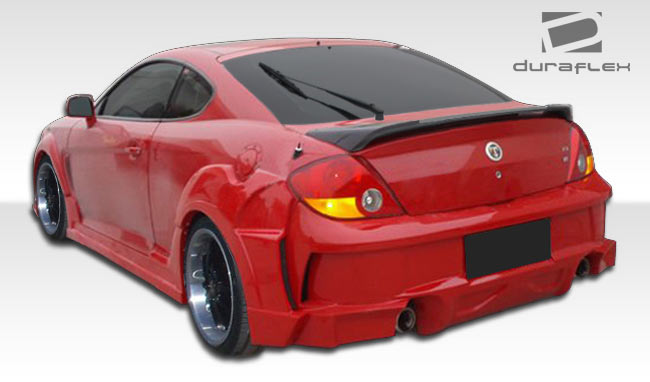 extreme dimensions 2003 2004 hyundai tiburon duraflex racer body kit 4 piece wholesale car parts turbo wholesale distribution