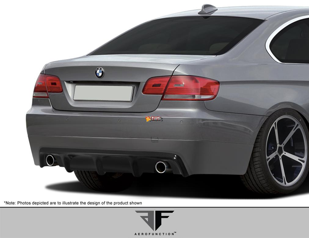extreme dimensions 2007 2010 bmw 3 series e92 e93 2dr af 2 rear diffuser cfp 1 piece. Black Bedroom Furniture Sets. Home Design Ideas